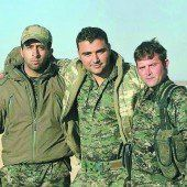 Junger Vorarlberger kämpft in Syrien mit den Kurden gegen IS