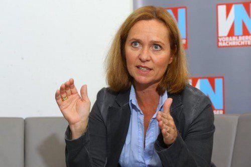 Fachverbandsobfrau Angelika Sery-Froschauer.  Foto. VN