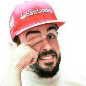Alonso lässt Vettel weiter zappeln