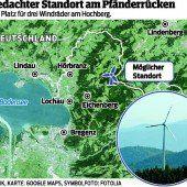 Windkraft-Initiatoren bangen um Zufahrten