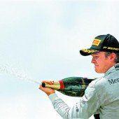 Rosberg hat verkürzt