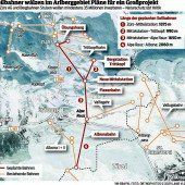 Arlberger wollen neue Seilbahnen