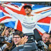 Lewis Hamilton krönte sich zum Weltmeister