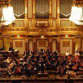 Symphonieorchester Vorarlberg konzertierte im Goldenen Saal des Musikvereins und plant weitere Gastspiele