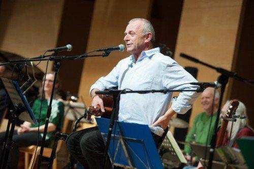 Freut sich auf den Konzertabend in Bregenz: Ulli Troy.  Foto: VN
