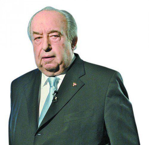 Fritz Neugebauer, 70-jähriger Vorsitzender der GÖD. APA