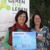 700 Euro für Spenden statt Geschenke