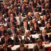 Ein Forum als Treffpunkt für Wirtschaftsvertreter