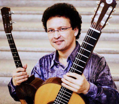 Gitarrenvirtuose Silfredo Pérez wurde in Venezuela geboren und lebt jetzt in Götzis. Foto: Veranstalter