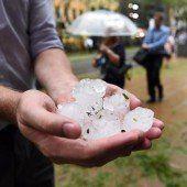 Hagelsturm verwüstet Teile von Brisbane
