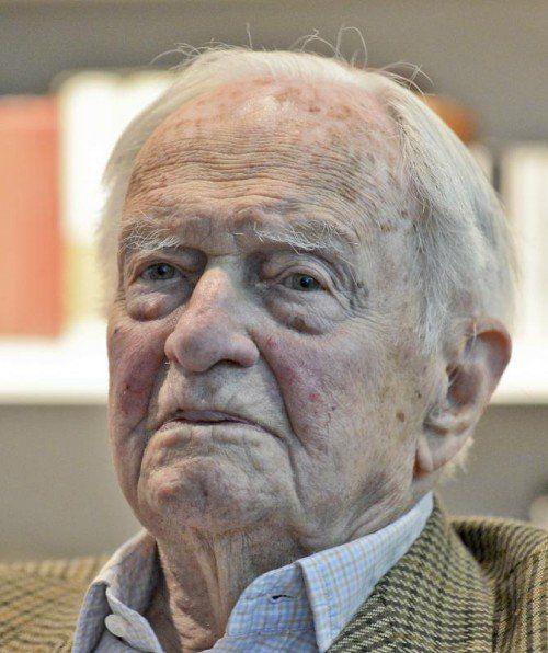 Heinrich Treichl verstarb im 102. Lebensjahr.  Foto: APA