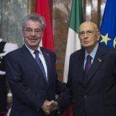 Fischer in Rom bei Napolitano