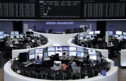 Im Börsenjahr 2014 erreichte der Deutsche Leitindex DAX erstmals die 10.000-Punkte-Marke. Foto: Reuters