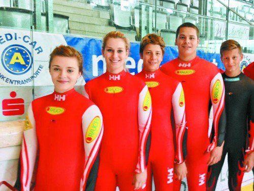 Im Weltcup dabei: Katrin Heinzelmaier, Thomas Steu. Foto: privat