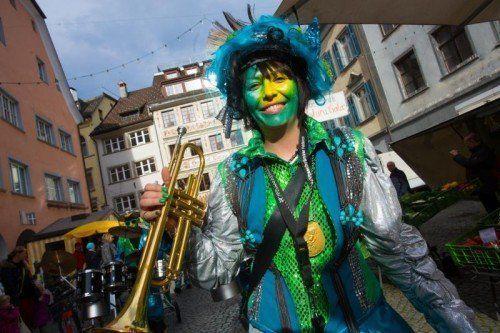 In Feldkirch trieben es die Narren bunt. Foto: VN/Hartinger