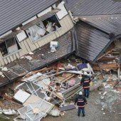 Erdbeben in China und Japan fordern Tote