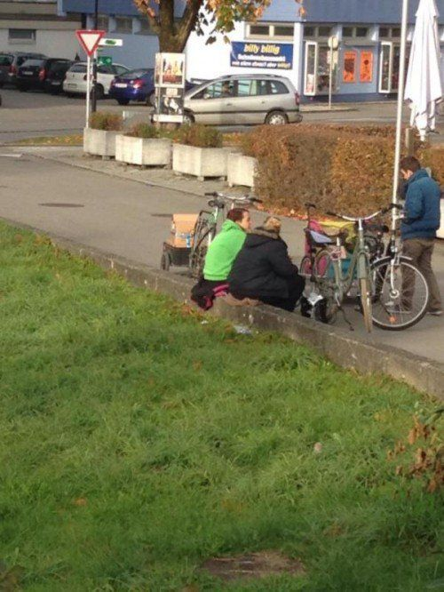 In Lustenau will man Müll vor dem Rheincenter vermeiden.