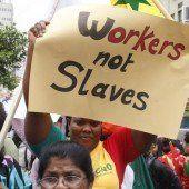 36 Millionen Menschen in moderner Sklaverei