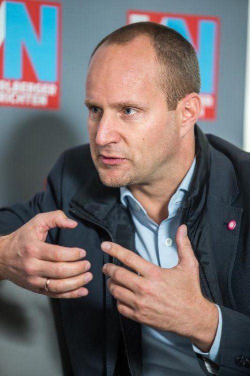 Absteiger des Monats: Neos-Chef Matthias Strolz. Foto: VN/Steurer