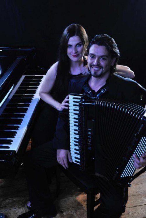 Isabella Pincsek-Huber mit Goran Kovacevic.  Foto: Westermann