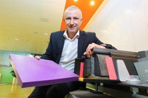 Jürgen Rainalter erwartet für das Geschäftsjahr 2014 in der Gruppe ein Umsatzplus von etwa fünf Prozent auf mehr als 68 Millionen Euro.  VN