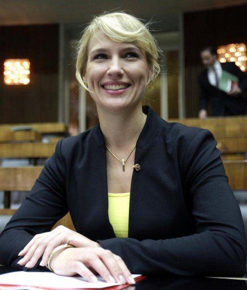 Kathrin Nachbaur ist aus der Bundespartei ausgetreten. FOTO: APA