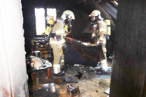 Klaus 8.11.2014 Brand Wohnung FW Feuerwehr
