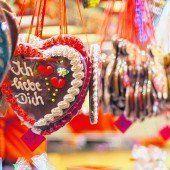 Herzen aus Lebkuchen
