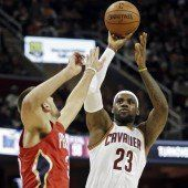 LeBron James führt Cavaliers zum Erfolg