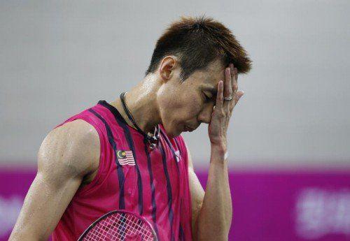 Lee Chong Wei muss mit einer Dopingsperre rechnen. Foto: AP