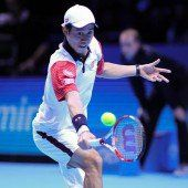 Nishikori gewinnt Auftakt gegen Murray