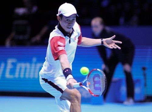 LONDON,ENGLAND,09.NOV.14 - TENNIS - ATP World Tour, World Tour Finals 2014. Image shows Kei Nishikori (JPN). Photo: GEPA pictures/ Alan Grieves