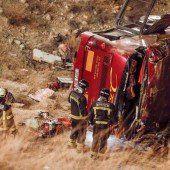 14 Todesopfer nach Busunglück in Spanien