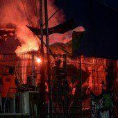 Beamtin von Hooligan attackiert: Verhandlung nach Bundesligaspiel