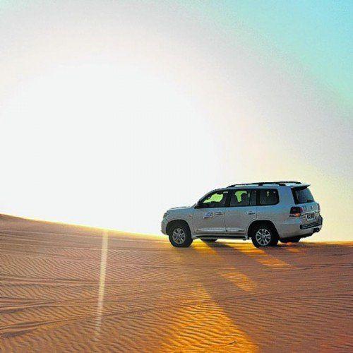 Mit Jeeps oder dem Sandbuggy über die Dünen fahren.