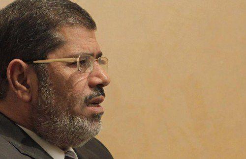 Mohamed Mursis Haft war Anlass von Protesten.  Foto: REUTERS