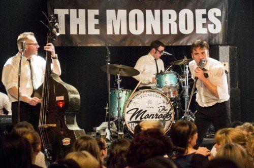 """""""Monroes""""-Frontmann Hanno Pinter (rechts im Bild): """"Wir unterstützen die gute Sache natürlich sehr gerne."""" Foto: VN/Stiplovsek"""