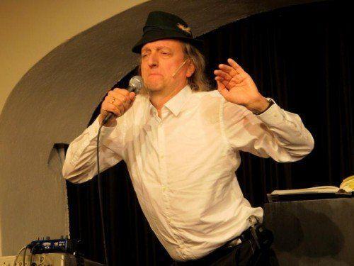 """Musik und Unterhaltung sind sein Lebenselixier: Markus Linder tritt bei der """"Ma hilft""""-Gala auf.  Foto: Jurmann"""