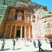 Das Weltwunder Petra fasziniert die Besucher