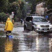 Chaos nach heftigen Unwettern in Italien