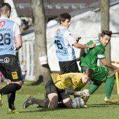 Fünf Tore, viel Spannung und ein Sieg für Austrias Unter-18-Elf