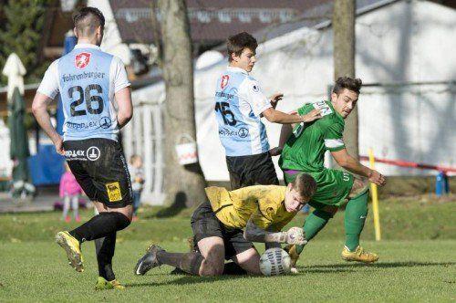 Nachwuchsspiel der Woche Hard U 18 - Austria Lustenau U 18 tormann Dean Lackner