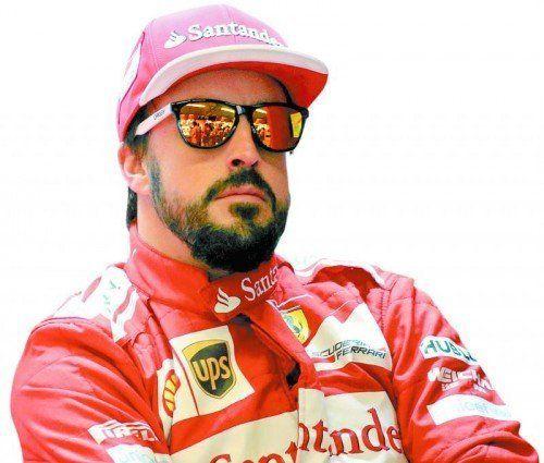 Neuanfang bei McLaren: Fernando Alonso. Foto: ap