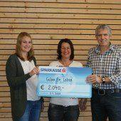 2000 Euro für Verein Geben für Leben