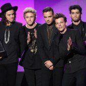 One Direction räumen bei den Music Awards ab