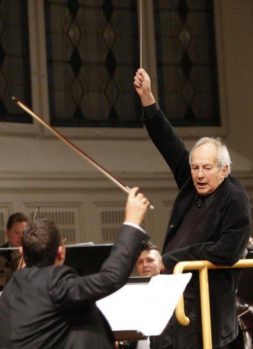 Otto Schenk dirigiert im Konzerthaus