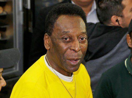 Pelé selbst erklärte, dass es ihm gut gehe. Der klinische Zustand zeige eine Besserung. Foto: epa