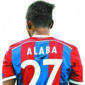 Alaba fällt aus