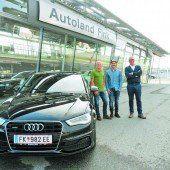 Neues Auto für Rennläufer Marcel Mathis