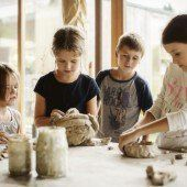 Kinderseelen in Ton und Glas gegossen